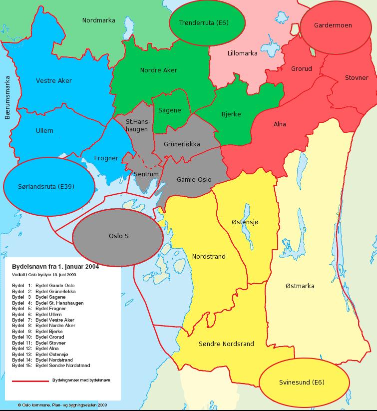 oslo områder kart Spilleregler 2.0 for Showdown in Little Karasjok   Rollespillgjengen oslo områder kart